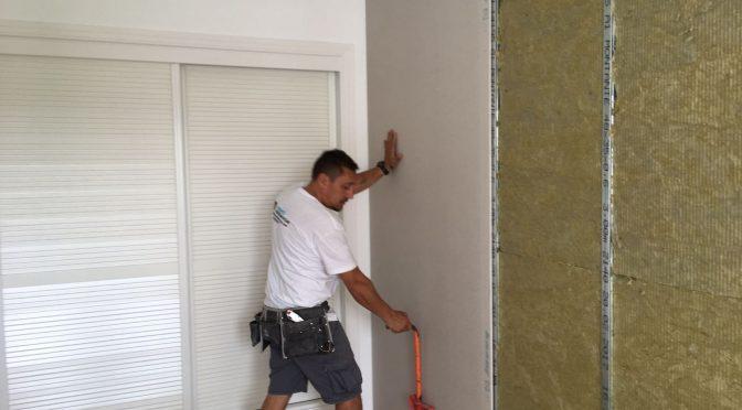 Trabajo: insonorización pared